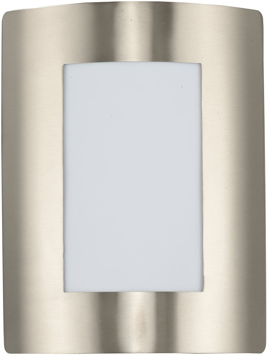 "11""H View LED 1-Light Wall Sconce Stainless Steel"