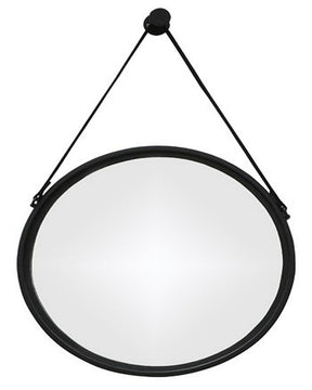 "20""H Dusan Accent Mirror Black"