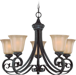 0-033089>Stanton 5-Light Chandelier English Toffee