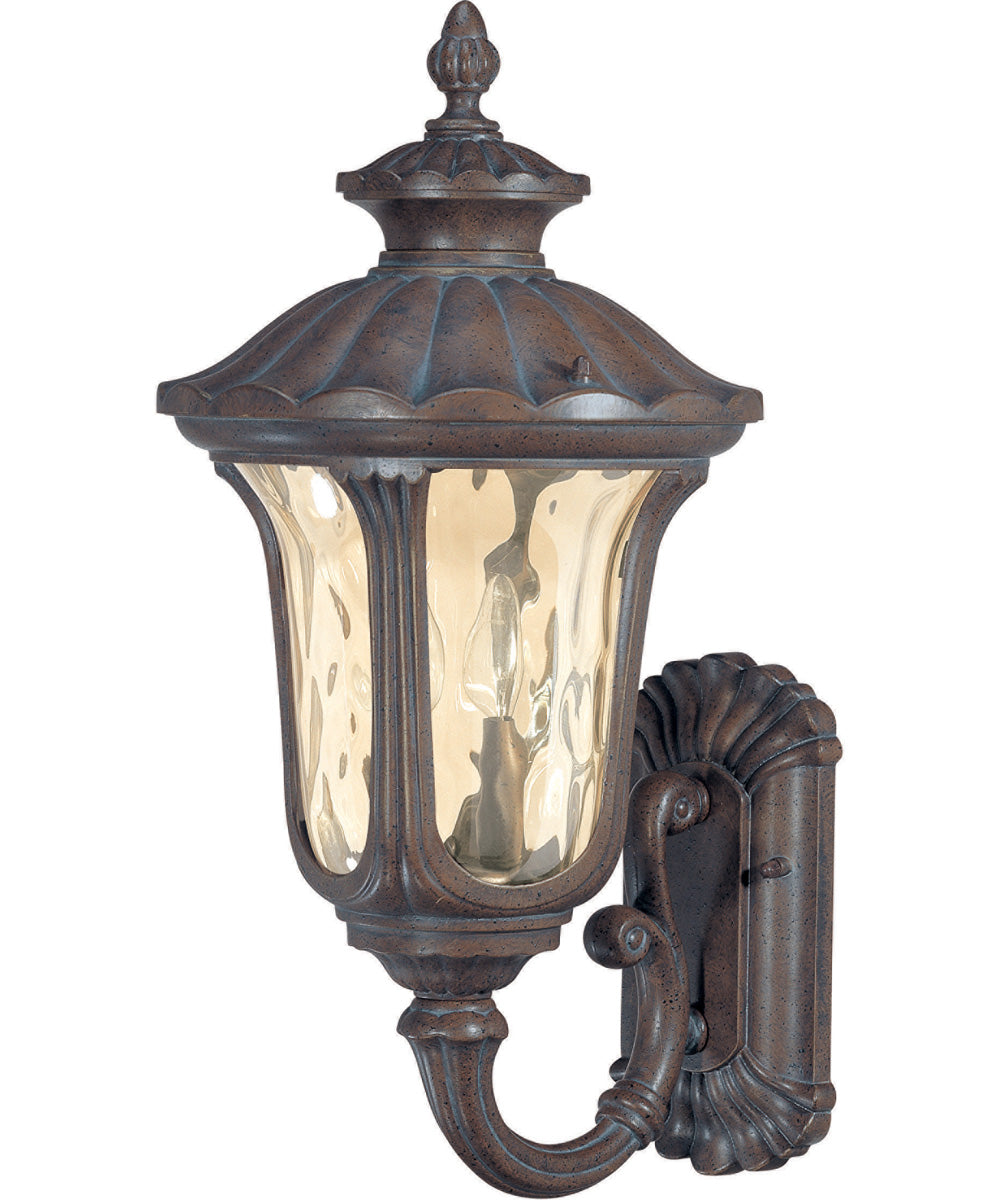 "22""H Beaumont 2-Light Outdoor Fruitwood"