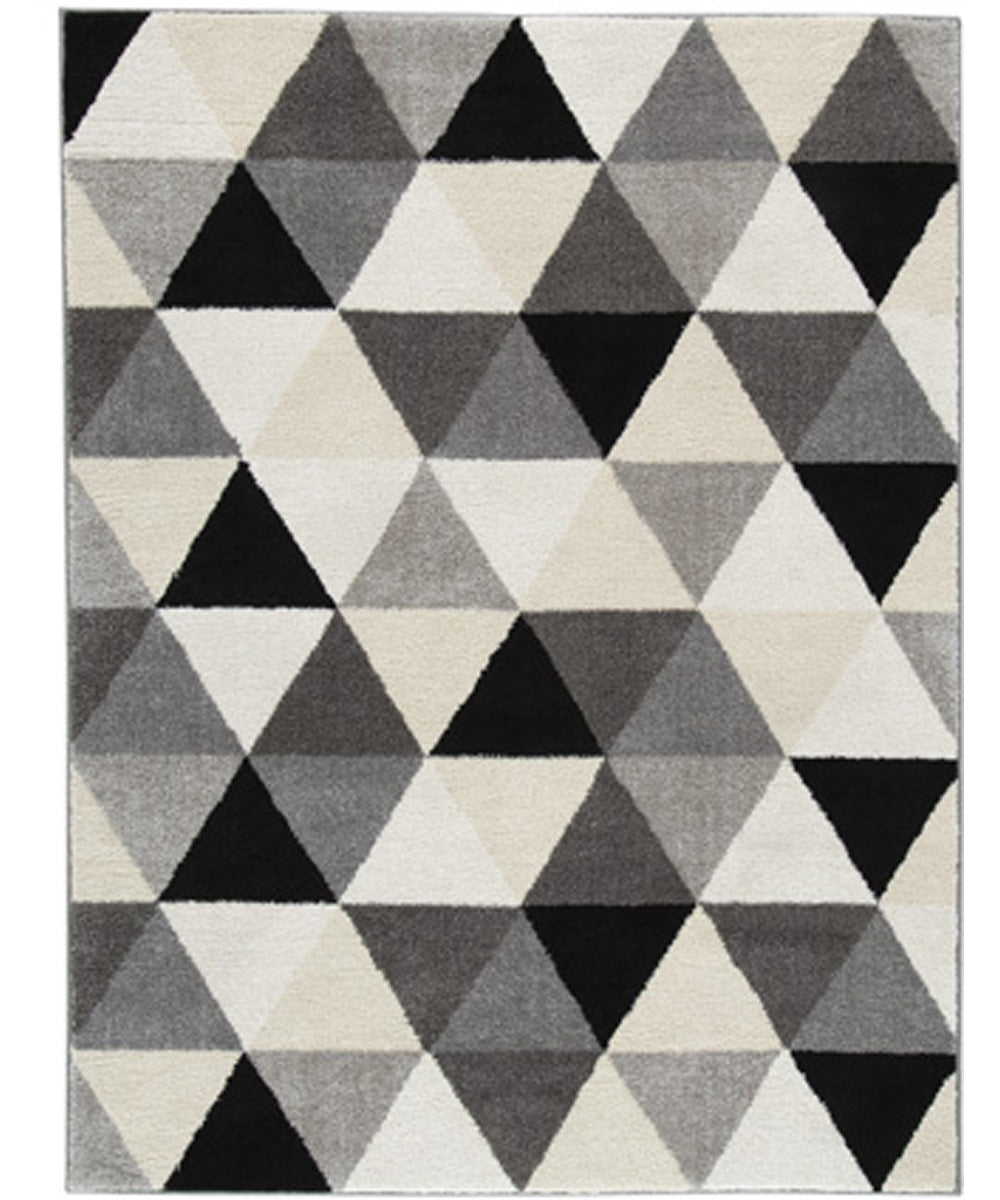 "60""W Jamaun Medium Rug Black/Cream"