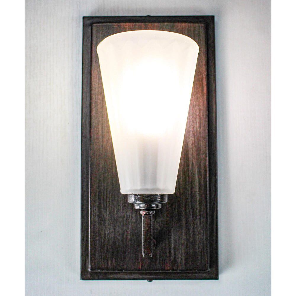 "6""W Avalon 1-Light Sconce Russet"