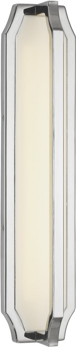 Audrie 1-Light LED Wall Sconce Polished Nickel