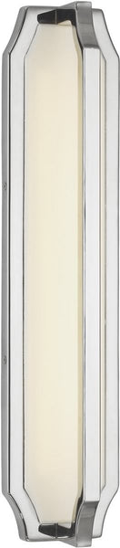 Feiss Audrie 1 Light Led Wall Sconce Polished Nickel Wb1742Pn