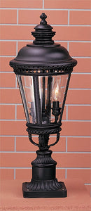 Feiss Castle Black Pier/Post Lantern OL1907BK
