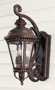 Feiss Castle Grecian Bronze Wall Mount Lantern OL1901GBZ