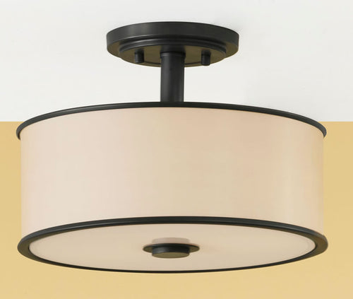 Feiss Casual Luxury Semi-Flushmount Dark Bronze SF251DBZ