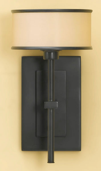 "7""w Casual Luxury Wall Sconce Dark Bronze"