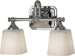 Feiss Concord 2-Light Bath Vanity Polished Nickel VS19702PN