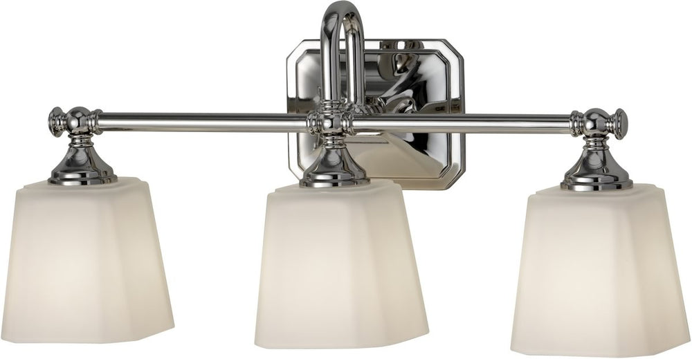"21""W Concord 3-Light Bath Vanity Polished Nickel"