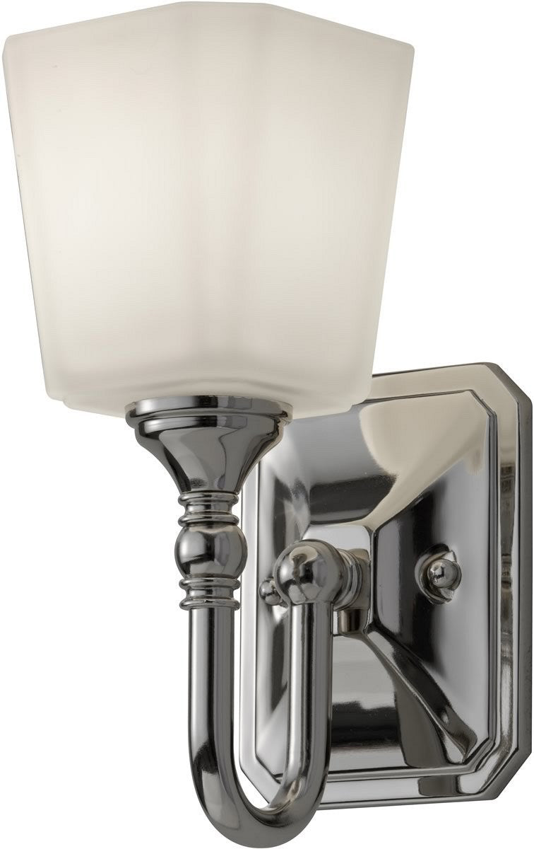 Concord 1-Light Bath Vanity Light Polished Nickel