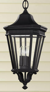 Feiss Cotswold Lane Outdoor Lantern Black OL5411BK