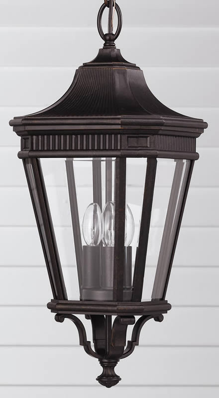 "10""w Cotswold Lane Outdoor Lantern Grecian Bronze"
