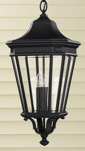 Feiss Cotswold Lane Outdoor Lantern Black OL5412BK