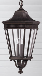 Feiss Cotswold Lane Outdoor Lantern Grecian Bronze OL5412GBZ