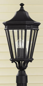 Feiss Cotswold Lane Outdoor Lantern Black OL5407BK