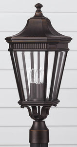 Feiss Cotswold Lane Outdoor Lantern Grecian Bronze OL5407GBZ