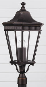 Feiss Cotswold Lane Outdoor Lantern Grecian Bronze OL5408GBZ