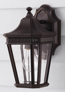 Feiss Cotswold Lane Outdoor Lantern Grecian Bronze OL5400GBZ