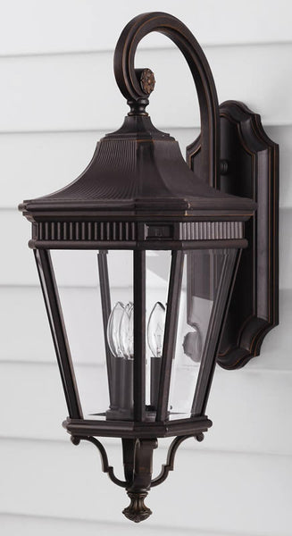 "24""h Cotswold Lane Outdoor Lantern Grecian Bronze"