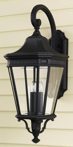 Feiss Cotswold Lane Outdoor Lantern Black OL5404BK