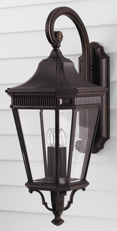 "30""h Cotswold Lane Outdoor Lantern Grecian Bronze"
