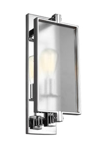 Feiss Dailey 1-Light Wall Sconce Chrome