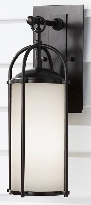 "17""h Dakota 1-Light Outdor Lighting Espresso"