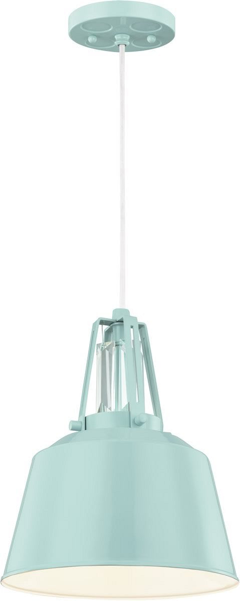 "9""W Freemont 1-Light Indoor/Outdoor Mini Pendant Hi Gloss Blue"