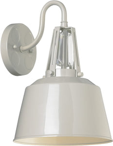 Feiss Freemont 1 Light Outdoor Pendant Light Hi Gloss Grey Ol15002Hgg