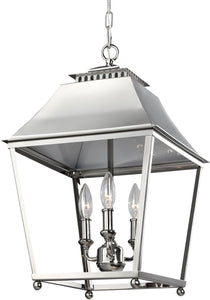Feiss Galloway 3-Light Pendant Polished Nickel F30893PN