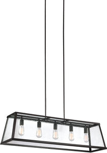 Harrow 5-Light Chandelier Oil Rubbed Bronze