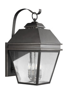 Feiss Herald 4-Light Outdoor Wall Lantern Antique Bronze