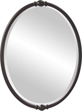 "33""H x 24""W Jackie Mirror Oil Rubbed Bronze"
