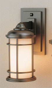 Feiss Lighthouse Burnished Bronze Wall Mount Lantern OL2200BB