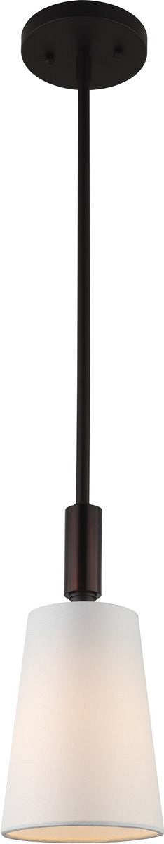 "5""W Lismore 1-Light Mini Pendant Oil Rubbed Bronze"