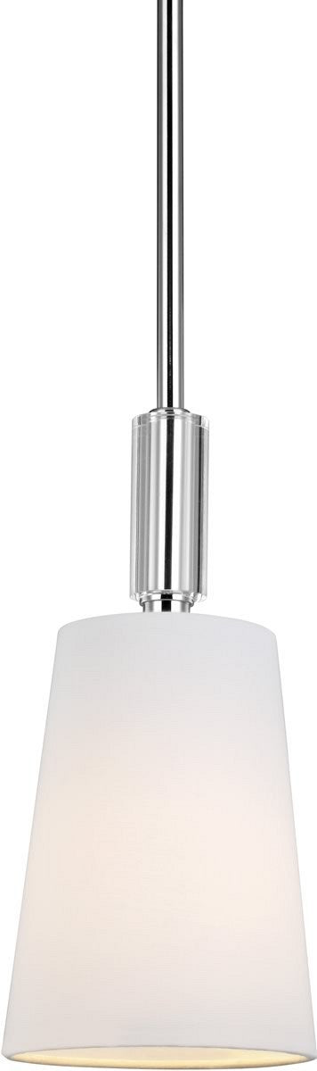 Lismore 1-Light Mini Pendant Polished Nickel