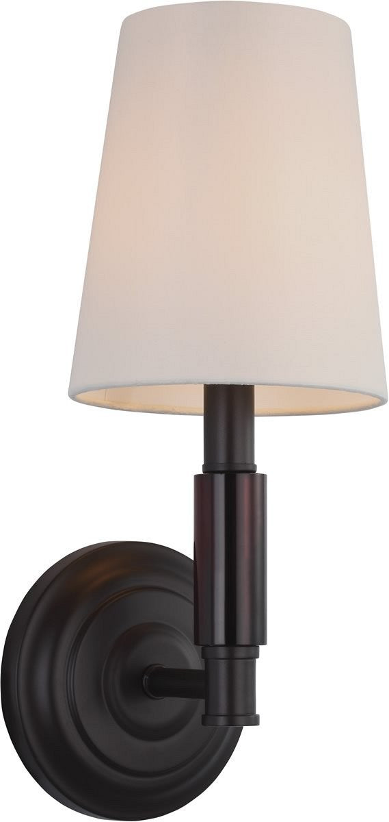 "6""W Lismore 1-Light Wall Sconce Oil Rubbed Bronze"