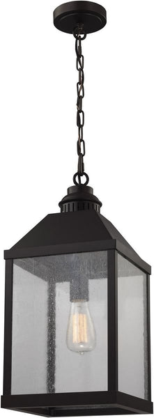 Feiss Lumiere 1 Light Chandelier Oil Rubbed Bronze F29591Orb