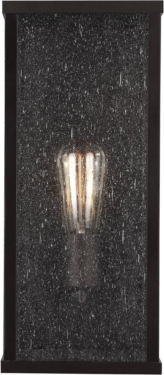 "15""H Lumiere 1-Light Outdoor Wall Light Oil Rubbed Bronze"