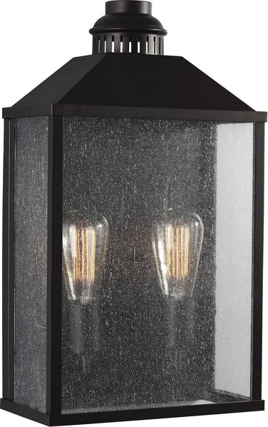 Lumiere 2-Light Outdoor Wall Light Oil Rubbed Bronze