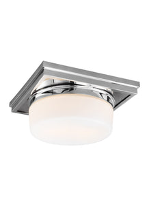 Feiss Mandie 2-Light Flush Mount Chrome