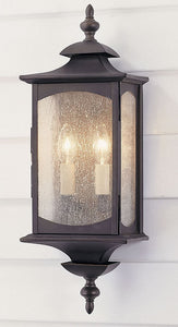 "19""h Market Square Outdoor Lantern Oil Rubbed Bronze"