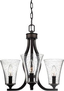 Feiss Marteau 3-Light Chandelier Oil Rubbed Bronze F31113ORB