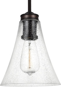 Feiss Marteau 1-Light Mini Pendant Oil Rubbed Bronze P1427ORB
