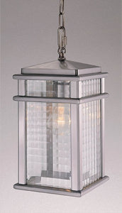 Feiss Monterey Coast Brushed Aluminum Hanging Lantern OL3411BRAL