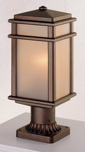 Feiss Mission Lodge Corinthian Bronze Pier/Post Lantern OL3407CB