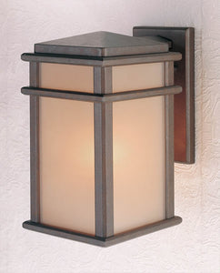 Feiss Mission Lodge Corinthian Bronze Wall Mount Lantern OL3401CB