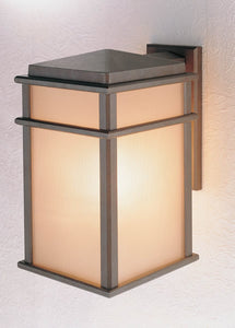 Feiss Mission Lodge Corinthian Bronze Wall Mount Lantern OL3402CB