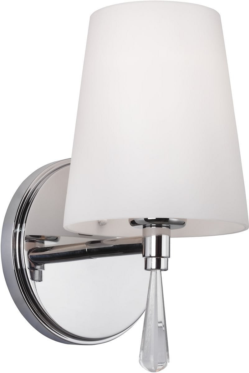 "5""W Monica 1-Light Bath Light Chrome"